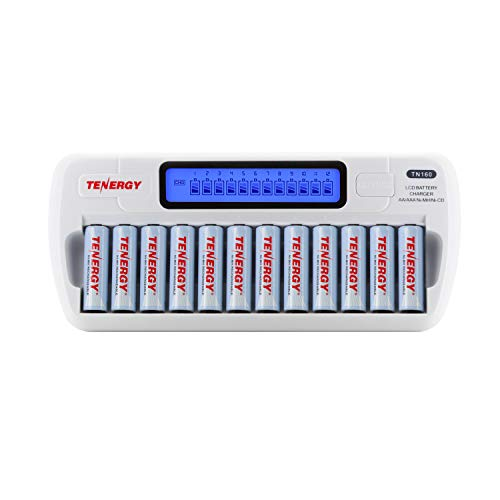 NiMH/NiCD AAA/AA Battery Charger Rechargeable Batteries