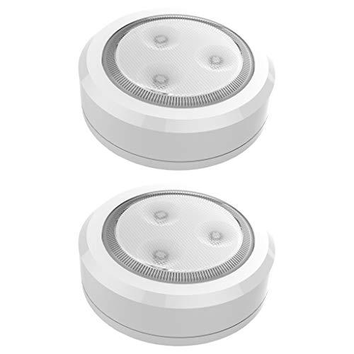 Battery Ultra Thin Wireless LED Puck Light