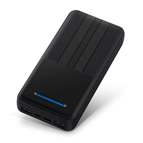 Portable Charger 20000mAh Battery Pack for iPhone 11 Pro Max Samsung S 20+ Google