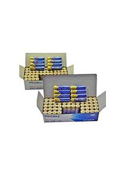 100x AA R6P +100x AAA R03P 1.5V Heavy Duty Batteries