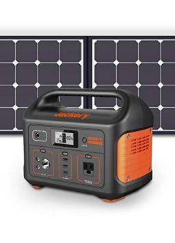 Jackery Solar Generator 500, 518Wh Outdoor Solar Generator Mobile