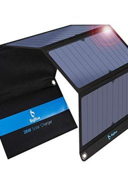 [Upgraded]BigBlue 3 USB Ports 28W Solar Charger