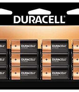 Duracell 123 High Power Lithium Batteries