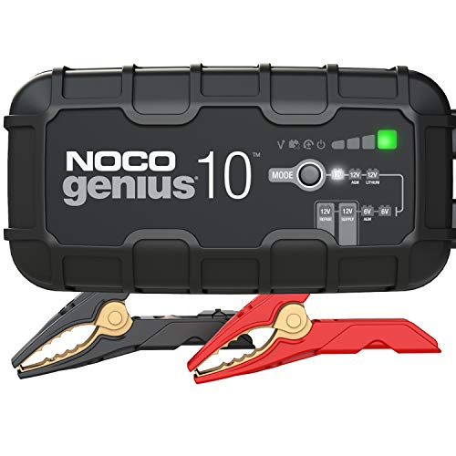 NOCO GENIUS10, 10-Amp Fully-Automatic Smart Charger