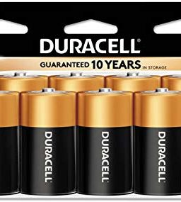 Duracell - CopperTop D Alkaline Batteries with recloseable Package