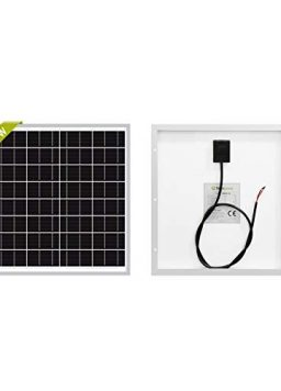 Newpowa 20W(Watt) Solar Panel Monocrystalline12V High Efficiency