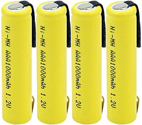 Ni Mh AAA Battery 1.2v 1000mah Rechargeable Batteries