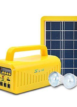soyond Portable Solar Generator with Solar Panel