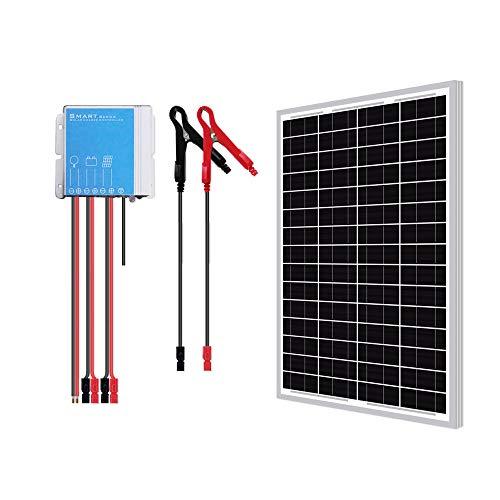 Newpowa 30W Watts 24V Mono Solar Panel Waterproof