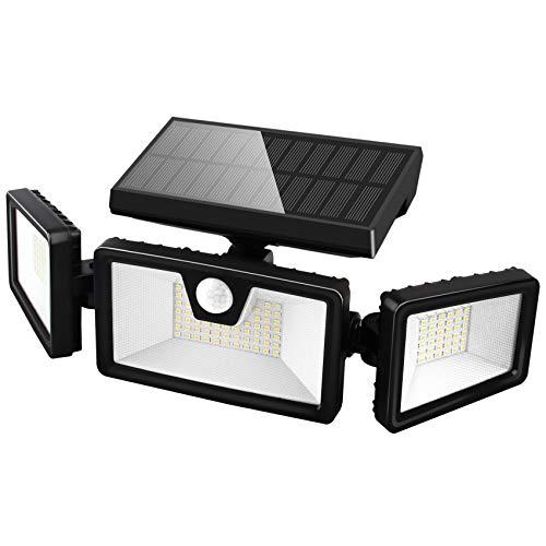 3 Head Adjustable Motion Sensor Lights