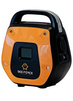 BEE FORCE New Portable Solar Generator and Power Bank