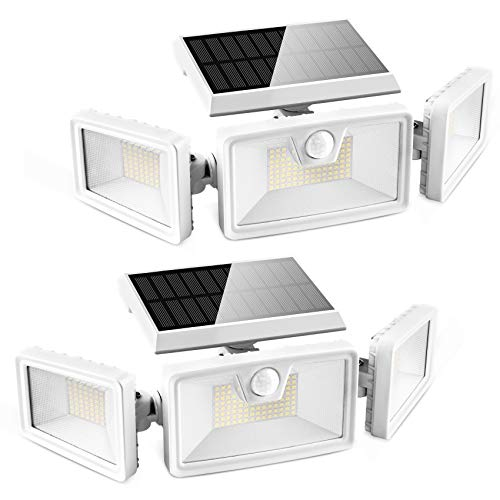 Otdair 188 LED Solar Lights Outdoor