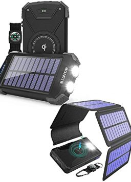 10,000mAh Solar Power Bank for Daily Use