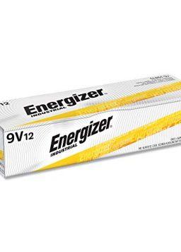 9v Battery Energizer Industrial 9 Volt Batteries