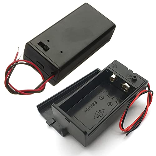 9 Volt Battery Holder with Switch