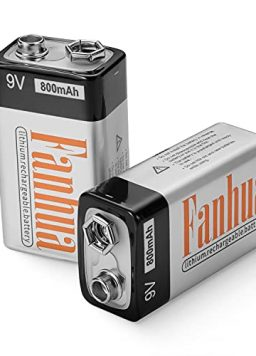 Fanhua 9V Rechargeable Batteries