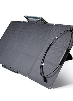 EF ECOFLOW 110 Watt Portable Solar Panel for Power Station