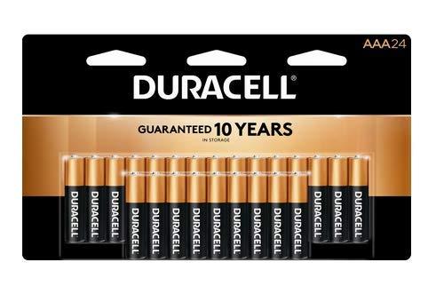 "24 Pack""AAA"" Duracell CopperTop Alkaline Batteries"
