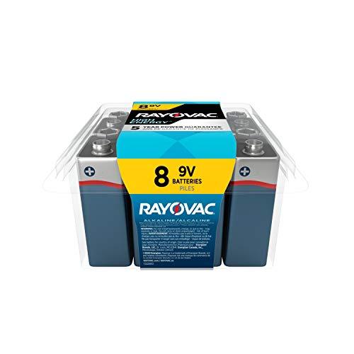 9V Battery Rayovac 9V Batteries