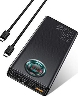 Portable Charger 30000mah, Baseus USB C PD 3.0 Fast Charging
