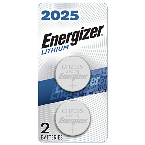 Energizer Battery, 3V Lithium Coin Cell 2025 Batteries