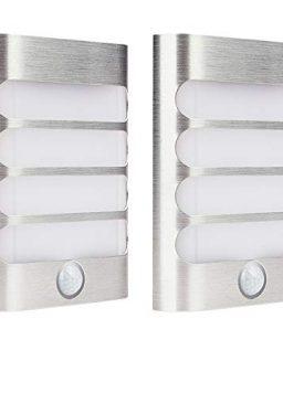 2-Pack Leadleds Luxury Aluminum Stick Anywhere