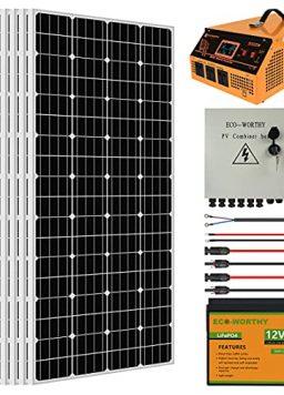 ECO-WORTHY 2000W 8KWH Solar Power System