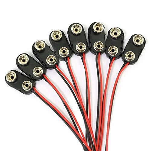 9 Volt Battery Clip Buckle Connector Hard Buckle