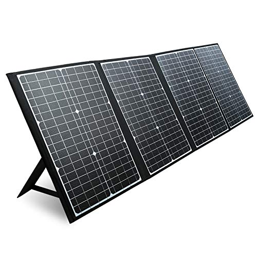 PAXCESS 120W Portable Solar Panel with USB