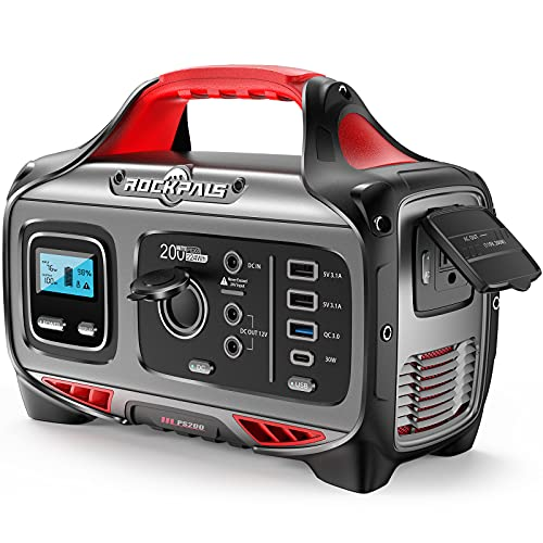 ROCKPALS Portable Power Station 200W