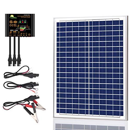 SUNER POWER 20 Watts Poly Crystalline 12V Solar Panel Kits