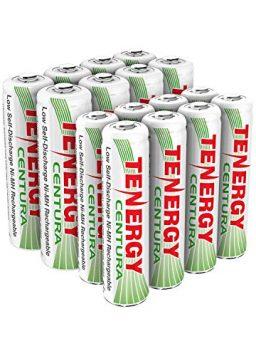 8xAA 8xAAA Rechargeable Batteries Low Self Discharge