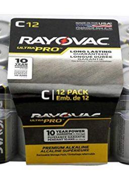 C Battery Rayovac UltraPro Industrial