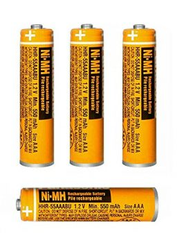 Rechargeable Batteries AAA for Panasonic Home Cordless Phones