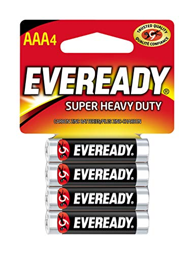Eveready Super Heavy Duty Batteries