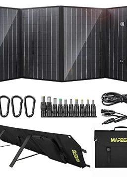 MARBERO 100W Solar Panel, Portable Foldable Solar Panel Kit
