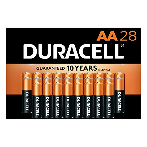 Duracell - CopperTop AA Alkaline Batteries - Long Lasting