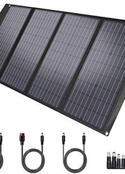 TwelSeavan Solar Panel 120W, Foldable Portable Solar Panel