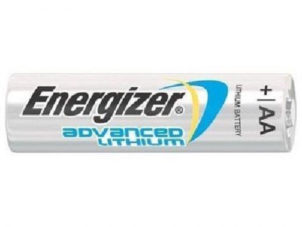 100x Energizer AA Lithium Batteries Advanced