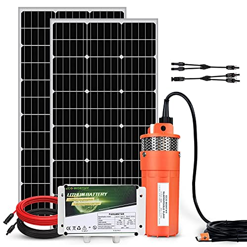 ECO-WORTHY All in One 200W Solar Well Pump System