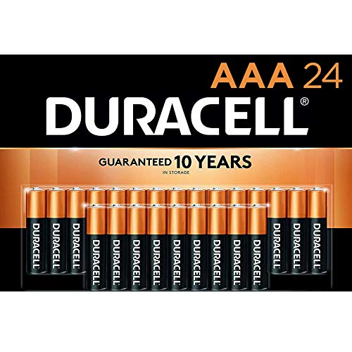 Duracell - CopperTop AAA Alkaline Batteries - Long Lasting