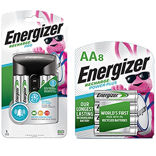 Rechargeable AA and AAA Battery Charger Energizer
