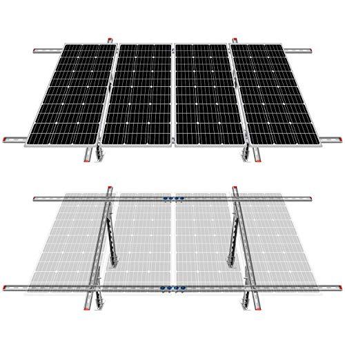ECO-Worthy Adjustable Multi-Pieces Solar Panel