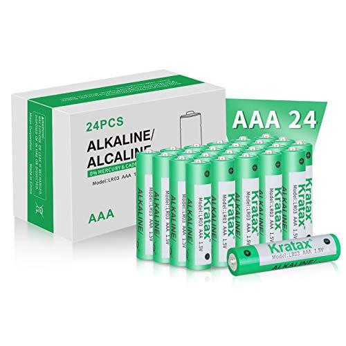 AAA Alkaline Batteries Kratax AAA Alkaline Batteries