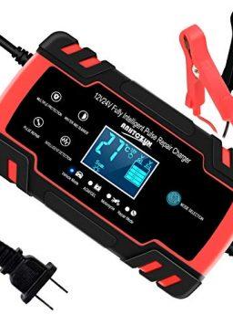 12V/8A 24V/4A Smart Automatic Battery Charger