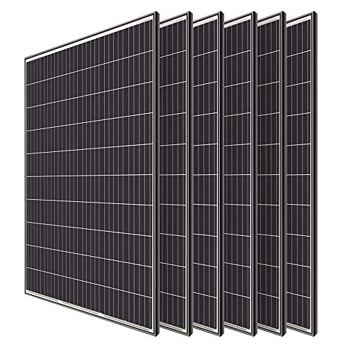 Renogy 6pcs 320 Watt Monocrystalline Solar Panel System Kit