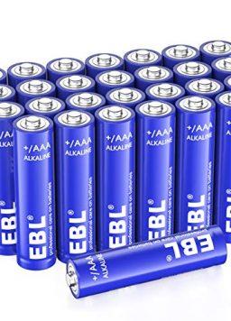 EBL AAA Alkaline Batteries - Triple A 1.5V Single Use Battery