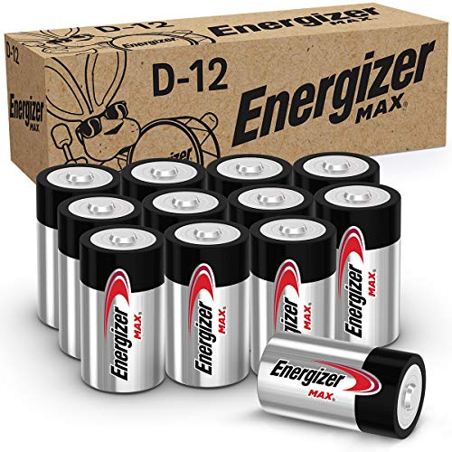 Alkaline D Cell Batteries Energizer