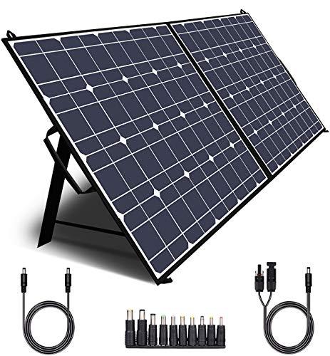 TWELSEAVAN 100W Solar Panel for Jackery