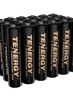 Tenergy Premium PRO Rechargeable AAA Batteries